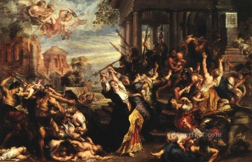 Massacre of the Innocents Baroque Peter Paul Rubens Oil Paintings