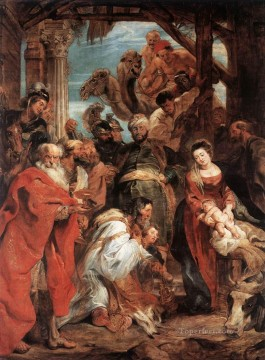 The Adoration of the Magi Baroque Peter Paul Rubens Oil Paintings