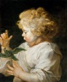 Boy with Bird Baroque Peter Paul Rubens