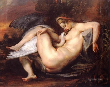 Leda and the Swan Baroque Peter Paul Rubens Oil Paintings