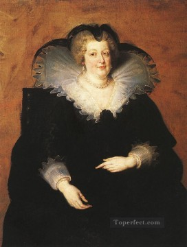 Peter Canvas - Marie de Medici Queen of France Baroque Peter Paul Rubens