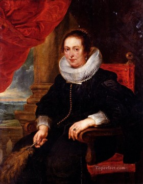 Peter Paul Portrait Of A Woman Probably His Wife Baroque Peter Paul Rubens Oil Paintings