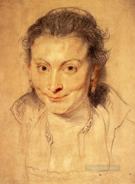 baroque - Portrait Of Isabella Brant Baroque Peter Paul Rubens
