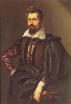 Portrait of Gaspard Schoppius Baroque Peter Paul Rubens Oil Paintings