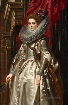 Peter Art - Portrait of Marchesa Brigida Spinola Doria Baroque Peter Paul Rubens