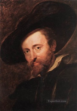 Peter Oil Painting - Self Portrait 1628 Baroque Peter Paul Rubens