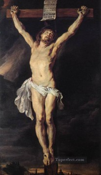 The Crucified Christ Baroque Peter Paul Rubens Oil Paintings
