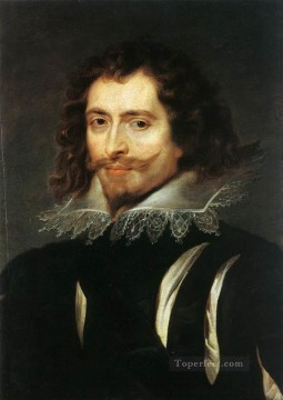 Peter Oil Painting - The Duke of Buckingham Baroque Peter Paul Rubens