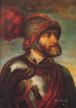 Peter Oil Painting - The Emperor Charles V Baroque Peter Paul Rubens