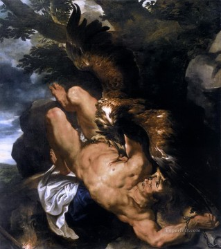 prometheus bound Peter Paul Rubens Oil Paintings