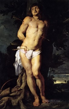 st sebastian Peter Paul Rubens Oil Paintings