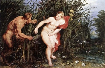 Pan and Syrinx Peter Paul Rubens Oil Paintings
