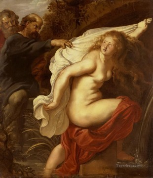 susanna and the elders 1 Peter Paul Rubens Oil Paintings