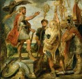 Decius Mus Addressing the Legions Peter Paul Rubens