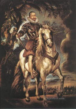 Peter Oil Painting - Duke of Lerma Baroque Peter Paul Rubens