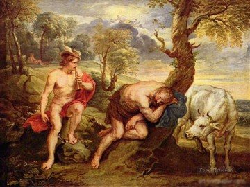 Mercury and Argus Peter Paul Rubens Oil Paintings