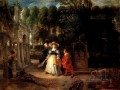 Rubens In His Garden With Helena Fourment Baroque Peter Paul Rubens