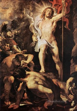 The Resurrection of Christ Baroque Peter Paul Rubens Oil Paintings