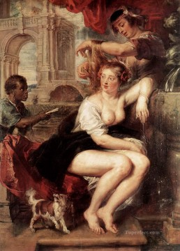 bathsheba at the fountain Peter Paul Rubens Oil Paintings