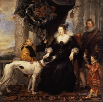 portrait of lady arundel with her train Peter Paul Rubens Oil Paintings