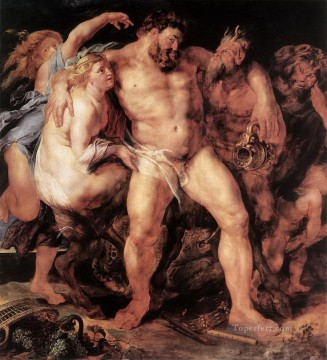 the drunken hercules Peter Paul Rubens Oil Paintings