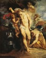 the martyrdom of st sebastian Peter Paul Rubens