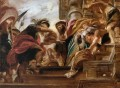 the meeting of abraham and melchisedek 1621 Peter Paul Rubens