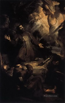 the stigmatization of st francis Peter Paul Rubens Oil Paintings