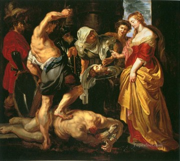 Beheading of St John the Baptist Peter Paul Rubens Oil Paintings