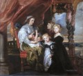 Deborah Kip Wife of Sir Balthasar Gerbier and Her Children Peter Paul Rubens