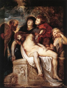 Baroque Canvas - The Deposition Baroque Peter Paul Rubens