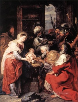 Adoration Art - Adoration of the Magi 1626 Baroque Peter Paul Rubens