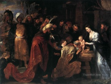Adoration Art - Adoration of the Magi Baroque Peter Paul Rubens