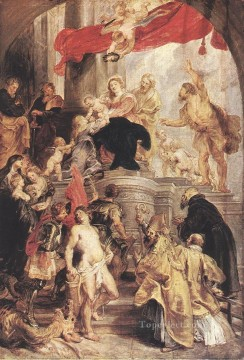 Bethrotal of St Catherine sketch Baroque Peter Paul Rubens Oil Paintings