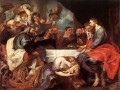 Christ at Simon the Pharisee Baroque Peter Paul Rubens