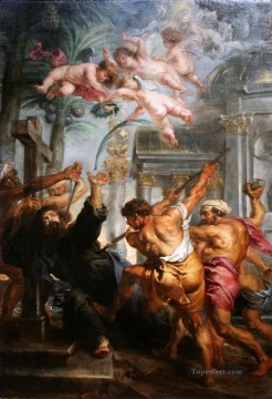 Peter Paul Rubens Painting - Martyrdom of St Thomas Peter Paul Rubens