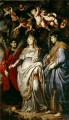 St Domitilla with St Nereus and St Achilleus Peter Paul Rubens