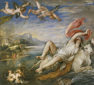 the rape of europa Peter Paul Rubens Oil Paintings
