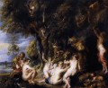 Nymphs and Satyrs Peter Paul Rubens