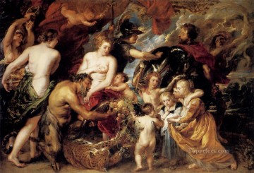 Peace And War Baroque Peter Paul Rubens Oil Paintings