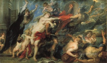 The Consequences of War Baroque Peter Paul Rubens Oil Paintings