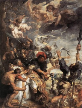 The Martyrdom of St Livinus Baroque Peter Paul Rubens Oil Paintings