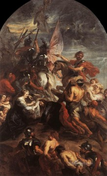 The Road to Calvary Baroque Peter Paul Rubens Oil Paintings