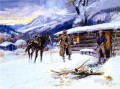 christmas meat 1915 Charles Marion Russell