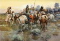 The Truce Indians western American Charles Marion Russell
