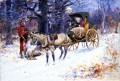 old christmas in new england 1918 Charles Marion Russell