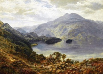 Artworks by 350 Famous Artists Painting - The Highland Shoot Samuel Bough landscape
