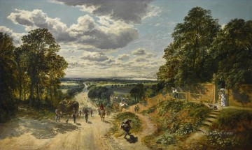 London Art - LONDON FROM SHOOTERS HILL Samuel Bough landscape