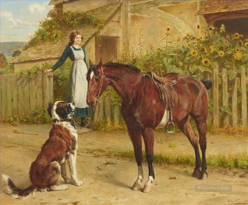 communication Samuel Edmund Waller genre Oil Paintings