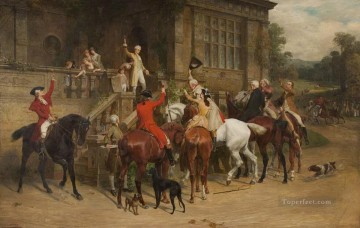 One and Twenty Samuel Edmund Waller genre Oil Paintings